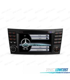 """RADIO NAVEGADOR 7"""" MERCEDES CL. E W211 / CLS W219 USB GPS TACTIL HD"""