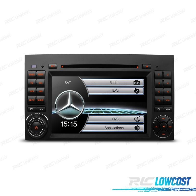 """RADIO NAVEGADOR 7"""" MERCEDES USB GPS TACTIL HD*NUEVO*"""