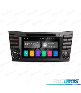 """RADIO NAVEGADOR ANDROID 7.1 7"""" MERCEDES CL. E W211 / CLS W219 USB GPS TACTIL HD"""