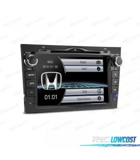 "RADIO NAVEGADOR 7"" HONDA CRV 07-11 USB GPS TACTIL HD"