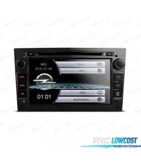"""RADIO NAVEGADOR 7"""" OPEL COLOR NEGRO OSCURO USB GPS TACTIL HD"""