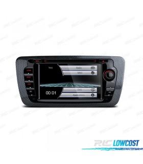 "RADIO NAVEGADOR 7"" IBIZA 6J 08-12 USB GPS TACTIL HD"