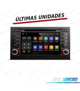 "RADIO NAVEGADOR ANDROID 5.1 7"" AUDI A4 B6 B7 01-07 USB GPS TACTIL HD"
