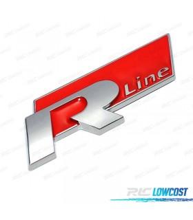 EMBLEMA R-LINE ROJO*REVISADO*