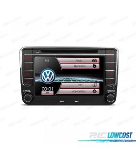 "RADIO NAVEGADOR 7"" VOLKSWAGEN USB GPS TACTIL HD CAMARA GRATIS"
