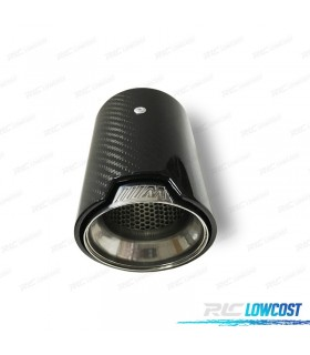 COLA DE ESCAPE PARA BMW M CARBONO