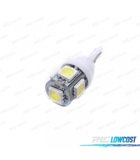 BOMBILLA LED W5W / T10 ECONÓMICA