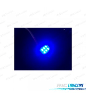 BOMBILLA LED AZUL C5W / FESTOON 36, 39, 41MM