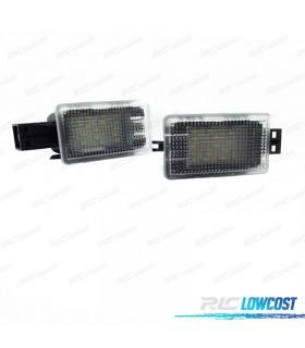PLAFONES DE PIES LED VOLVO C70 V50, S60, S60L, V40, XC90, S80, S80L, V60, XC60