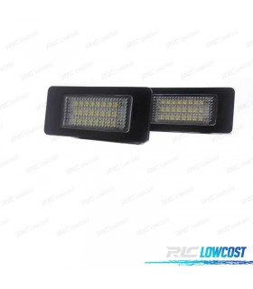 LUCES DE MATRÍCULA LED BMW SERIE 3 E90 / E91 / E92 / E93 (2005-2014)