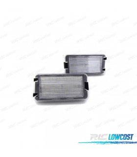 LUCES DE MATRÍCULA LED SEAT LEON MKI (1999-2005)