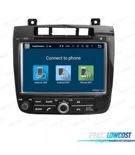 "RADIO NAVEGADOR DVD GPS ANDROID 9 8"" PARA VOLKSWAGEN TOUAREG (2010-)"