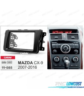 MARCO ADAPTADOR NEGRO PARA RADIO 2-DIN MAZDA CX-9 07-16