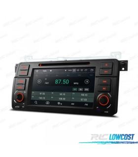 "NAVEGADOR GPS LCD TÁCTIL 7"" BMW SERIE 3 E46 ANDROID 8.1 CARPLAY"