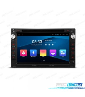 NAVEGADOR GPS LCD TÁCTIL 7' PARA SKODA VW SEAT ANDROID 8.1 CANBUS BLUETOOTH