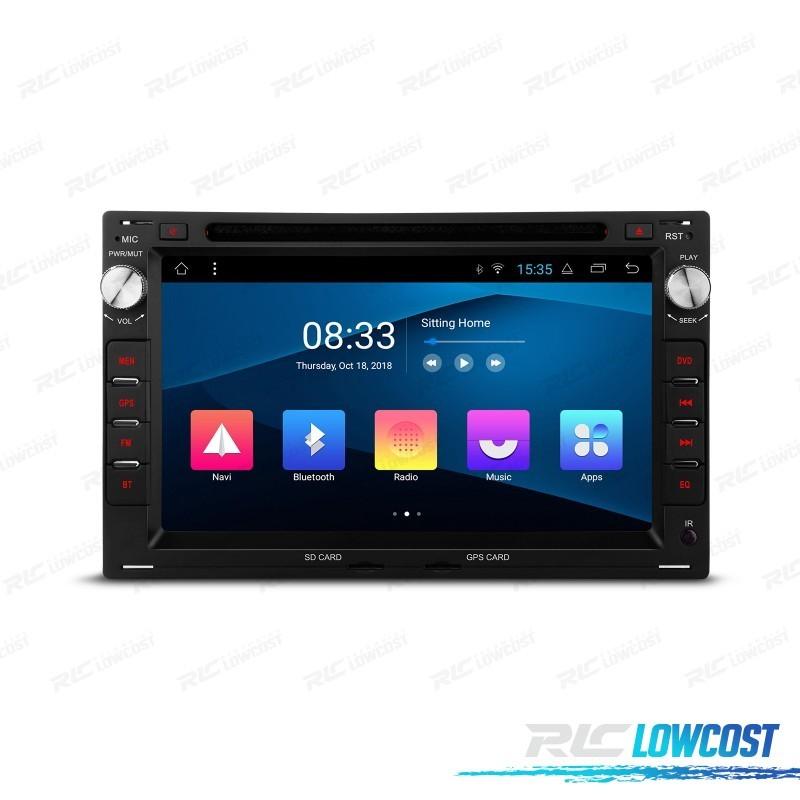 NAVEGADOR GPS LCD TÁCTIL 7' PARA SKODA VW SEAT ANDROID 8.0 CANBUS BLUETOOTH