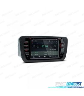 """NAVEGADOR GPS LCD TÁCTIL 7"""" CANBUS SEAT IBIZA 6J MK4 ANDROID 9.0 Y CARPLAY"""