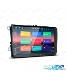 "NAVEGADOR ANDROID 9.0 LCD TÁCTIL 9"" VW SEAT Y SKODA"