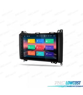 """NAVEGADOR MERCEDES BENZ LCD 9"""" TÁCTIL CLASE A CLASE B VITO VIANO SPRINTER ANDROID 9.0"""