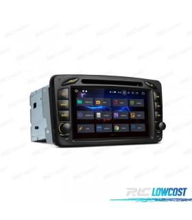 NAVEGADOR GPS MERCEDES BENZ CLASE A C E G VITO Y VIANO ANDROID 8.0 4GB RAM Y CARPLAY