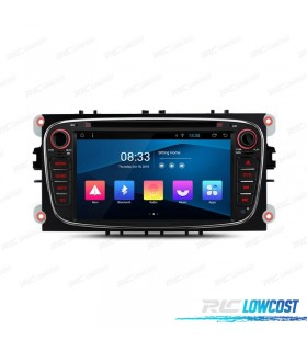 "NAVEGADOR GPS 7"" PARA FORD FOCUS MONDEO... ANDROID 10.0 CANBUS"