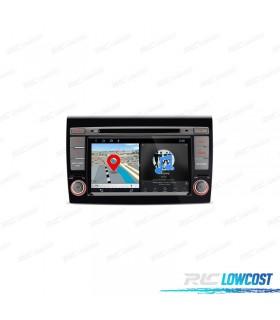 "NAVEGADOR GPS FIAT BRAVO TÁCTIL 7"" ANDROID 8.1 BLUETOOTH WIFI"