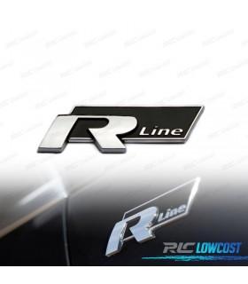 EMBLEMA R-LINE NEGRO