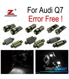 Kit completo de 26 bombillas LED interior para Audi Q7 4L (2005-2014)