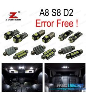Kit completo de 31 bombillas LED interior para Audi A8 S8 D2 Quattro (1997 -2002)