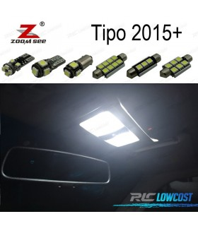 Kit completo de 6 bombillas LED interior para Fiat Tipo 356 de 357 (2015 +)