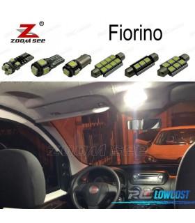 Kit completo de 5 bombillas LED interior para Fiat Fiorino (2007 -2012)