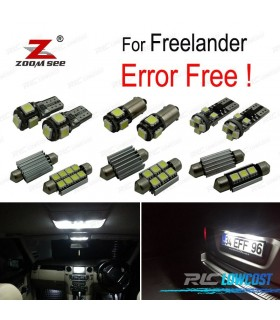 Kit completo de 21 bombillas LED interior para Land Rover Freelander (2001- 2006)