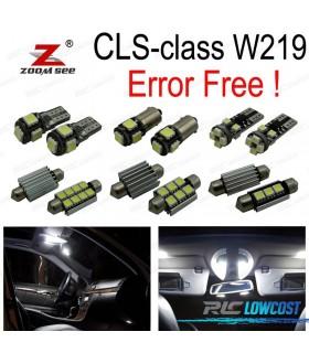 Kit completo de 23 bombillas LED interior para mercedes-benz CLS W219 CLS500 CLS550 CLS55 AMG CLS63 AMG 06-10