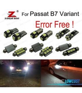 Kit completo de 6 bombillas LED para Passat B7 (365) (11-14)