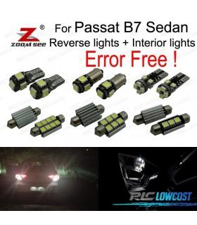 Kit completo de 18 bombillas LED interior para Passat B7 Sedan sólo (2012-2015)