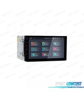 """NAVEGADOR GPS ANDROID 9.0 LCD TáCTIL 7"""" 2DIN HDMI 4GB RAM 64GB ROM CARPLAY"""