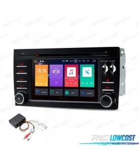 "RADIO DVD GPS LCD TáCTIL 7"" PORSCHE CAYENNE ANDROID 9.0 + INTERFACE FIBRA + CARPLAY"