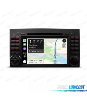 "RADIO NAVEGADOR ANDROID9 PANTALLA 7"" MERCEDES USB GPS TACTIL HD"