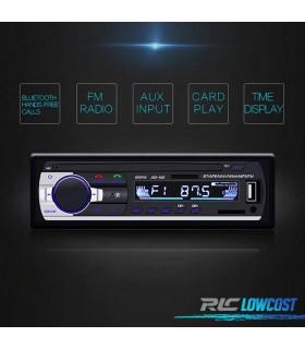RADIO 1DIN BLUETOOTH MP3 USB SD AUX