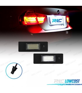 LUCES DE MATRÍCULA LED BMW Z4 E85 ROADSTER (02-09), E86 COUPE (02-09) Y E89 CABRIO (09-)