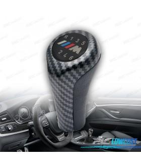 POMO PARA BMW LOOK M CARBONO LARGO 6 VELOCIDADES